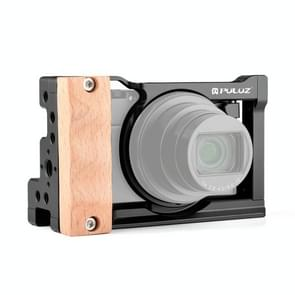 PULUZ Video Camera Cage Stabilizer Mount voor Sony RX100 VI / VII(Zwart)