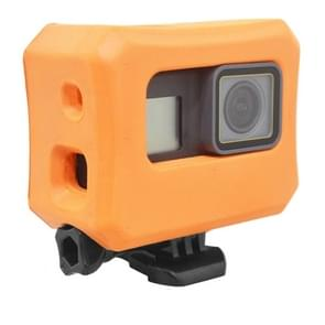 PULUZ Floaty Case with Backdoor for GoPro HERO7 /6 /5(Orange)