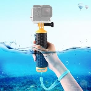 PULUZ Floating Handle Hand Grip Buoyancy Rods with Strap for GoPro NEW HERO /HERO7 /6 /5 /5 Session /4 Session /4 /3+ /3 /2 /1, DJI Osmo Action, Xiaoyi and Other Action Cameras(Yellow)