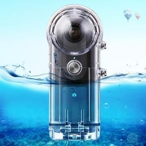 PULUZ 30m onderwater waterdichte behuizing beschermhoes voor Ricoh theta S theta V & baan SC360  met gesp Basic Mount & schroef