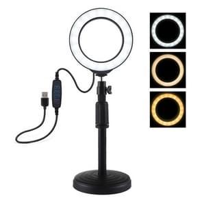 Vlogging lamp voor op een bureau verstelbare hoogte: 18cm-28cm