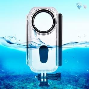 PULUZ 5m onderwater waterdichte behuizing beschermhoes voor Insta360 een X  met gesp Basic Mount & schroef