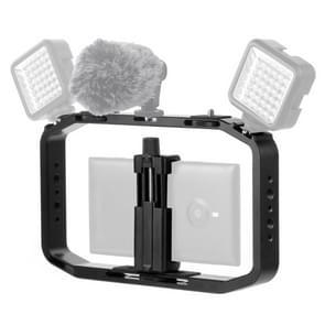 PULUZ handheld video rig filmmaken VLogging kooi houder voor DJI osmo actie  GoPro nieuwe HERO/HERO7/6/5/5 sessie  micro SLR en andere Actiecamera's
