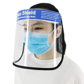 PULUZ Anti-Saliva Splash Anti-Spitting Anti-Fog Anti-Oil Protective Face Shields Mask with Elastic Band  English Words(Transparent)