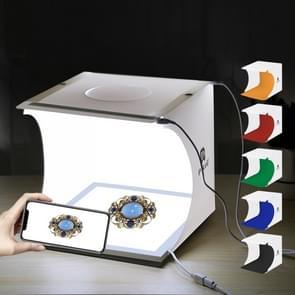 PULUZ Mini LED fotografie Shadowless licht Lamp deelvenster Pad + Studio schieten vak acryl materiaal  20 x 20 cm effectieve kampeerterrein