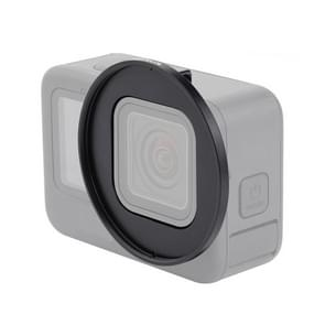 PULUZ 52mm UV Lens Filter Adapter Ring voor GoPro HERO9 Zwart