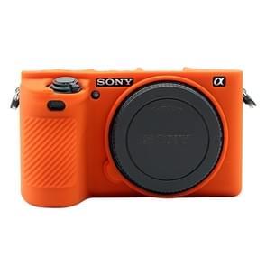 PULUZ Soft Silicone Protective Case for Sony ILCE-6500(Orange)