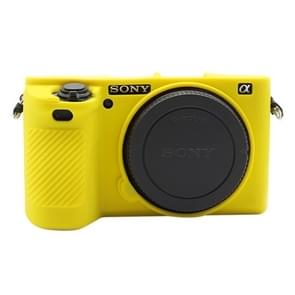 PULUZ Soft Silicone Protective Case for Sony ILCE-6500(Yellow)