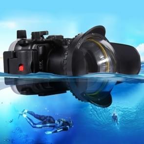 PULUZ optische Fisheye Lens Shade Wide Angle Dome poort Lens voor Onderwaterhuizen (67 mm ronde Adapter) 60m onderwater diepte