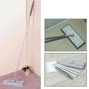 Super Magic Swiffer Sweeper Dry & Wet Mop with 5 Wiper Sheets(Grey)