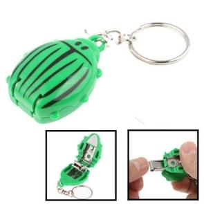 Coccinella Style Nail Clipper + Keychain