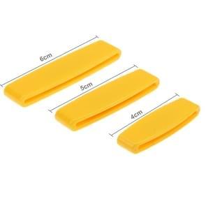 3 PCS Versatile Tube Squeezer Toothpaste Dispenser Extrusion Device, Random Color Delivery