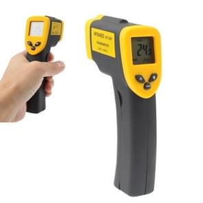 Infrared Thermometer, Temperature Range: -50 - 380 Degrees Celsius (D:S = 12:1)(Black)