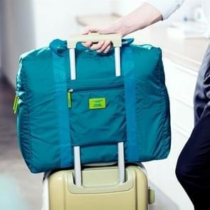 Verfraaien van multi-functionele draagbare waterdichte grote capaciteit Nylon opvouwbare Pouch opbergtas voor reizen  grootte: 44 x 35 cm x 19cm(Green)