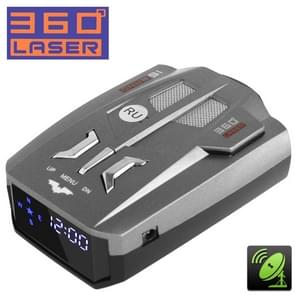 2 in 1 (360 Degrees Laser Full-Band Scanning Advanced Radar Detectors / Laser Defense Systems & GPS Location), Built-in Loud Speaker, Russia Language Only