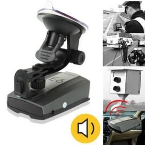 E6 Grey, 360 Degrees Full-Band Scanning Advanced Radar Detectors and Laser Defense Systems, Built-in Loud Speaker (English Language)