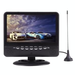 NS-701 7.5 inch Car Monitor Portable TV Player with Remote Controller, USB / SD (MP5) Interface, Support PAL-BG / DK / I / N / M, NTSC-M, SECAM-BG / DK, SECAM-L(Black)