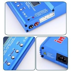 US Plug iMAX B6 AC B 6AC Lipo NiMH 3S RC Battery Balance Charger of RC Hobby(Blue)