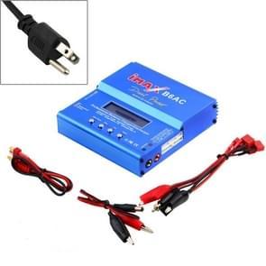 US Plug iMAX B6AC Dual Power Lipo NiMH RC Battery Balance Charger Discharger(Blue)