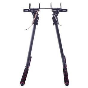 20mm Pipe Clamp HJ-1100P Carbon Fiber Retractable Landing Gear Skid Set for DJI S800 / S800 EVO Multicopters