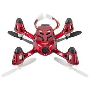 Hubsan X4 H107C 2.4GHz 4-kanaals RC Quadcopter met 0.3 Megapixel Camera (rood + zilverkleurig)