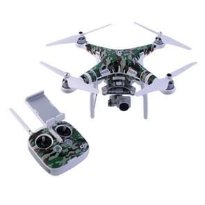 Water weerstand PVC Decal Skin Sticker voor DJI Phantom 3 Quadcopter & afstandsbediening