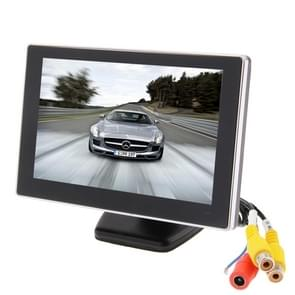 5 inch TFT-LCD-scherm dashboard back-up auto LCD monitor auto parkeren video systeem (ET-500)