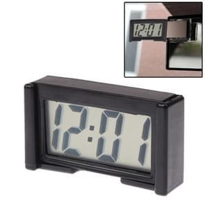 LCD digitale elektronische auto klok auto interieur accessoire datum kalender tijd Display(Black)