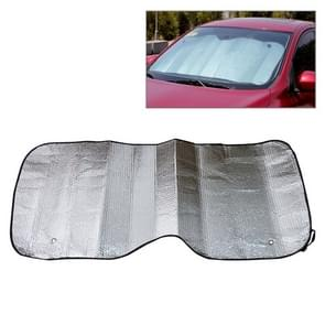 Foldable Car Back Windshield Sunscreen Foil, Size: 125 x 60 cm