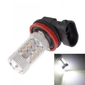 H11/H8 80W 800LM 6500K wit licht 16-3535-LEDs auto Mistlamp  constante stroom  DC12-24V