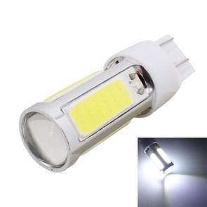 2st T20 Dual draden 1250LM 20W + 5W 5 x COB LED wit licht remlicht overdag Running gloeilamp  DC 12V
