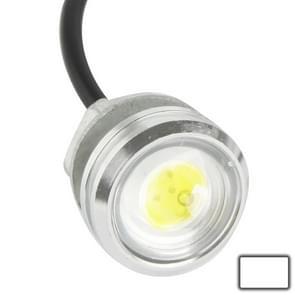 3W waterdichte Eagle Eye licht wit LED licht voor voertuigen  kabel lengte: 60cm(Silver)