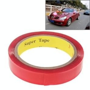 Universal Transparent Double Sided Adhesive Tape, Width: 2cm, Length: 2m