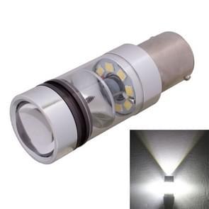 1156 850LM BA15S 100W LED wit licht auto achter back-up / voorzijde van de beurt signalen Lamp lamp  DC 12-24V
