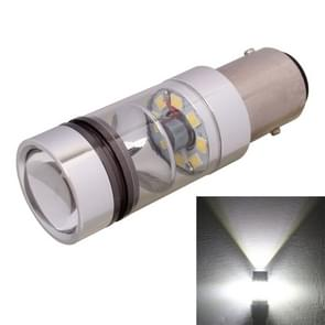 1157/BAY15D 850LM 100W LED wit licht auto achter rem Lamp lamp  DC 12-24V