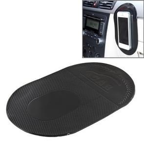 Auto anti-slip Sticky mat voor mobiele telefoon/MP3/MP4  grootte: 18.2 x12x 0.2 cm (zwart)