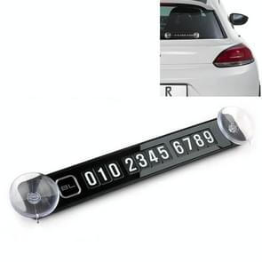 Car Magnetic Puzzle Phone Number Parking Plate