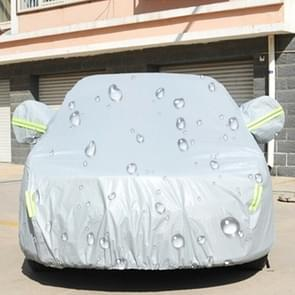PEVA Anti-Dust Waterproof Sunproof Hatchback Car Cover with Warning Strips, Fits Cars up to 4.5m(177 inch) in Length