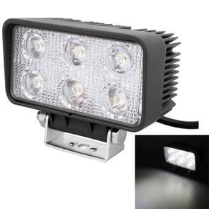hou van mijn leven-1518 18W 1260-1350LM Epistar 6 LED wit 30 graden Spot Beam auto LED licht waterdichte IP67  DC 10-30V
