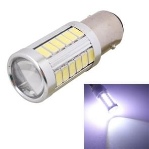 2 stk 1157/BAY15D 16.5W 990LM 6500 K wit licht 5630 SMD 33 LED auto rem / stuurinrichting gloeilamp  DC12V