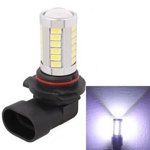 2 PCS 9006 16.5W 990LM 6500K White Light 5630 SMD 33 LED Car Brake / Steering Light Bulb, DC12V