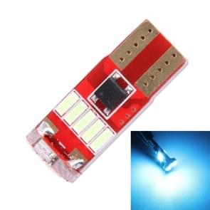 2st T10 3W 450LM ICE blauw licht 15 LED 4014 SMD LED decoderen foutvrij Canbus auto Clearance Lamp  DC12V (Ice Blue Light)