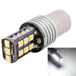 2 stk 1156 3W witte LED 300LM SMD 2835 auto mistlicht achter / Backup licht voor voertuigen  DC 12V