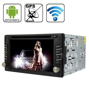 Rungrace Universal 6 2 inch Android 4.2 Multi-Touch Capacitieve Scherm In-Dash Car DVD-speler met WiFi / GPS / RDS / IPOD / Bluetooth