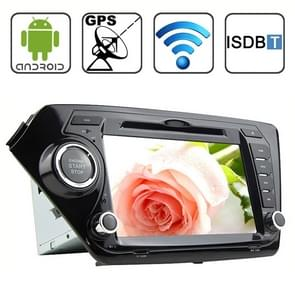 Rungrace 8.0 inch Android 4.2 Multi-Touch Capacitieve Screen In-Dash Car DVD Player voor KIA K2 met WiFi / GPS / RDS / IPOD / Bluetooth / ISDB-T