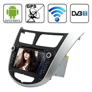 Rungrace 7.0 Android 4.2 Multi-Touch Capacitieve Scherm In-Dash Car DVD Player voor Hyundai Verna met WiFi / GPS / RDS / IPOD / Bluetooth / DVB-T
