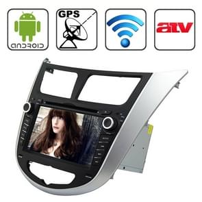 Rungrace 7.0 inch Android 4.2 Multi-Touch Capacitieve Screen In-Dash Car DVD Player voor Hyundai Verna met WiFi / GPS / RDS / IPOD / Bluetooth / ATV