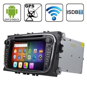 Rungrace 7.0 inch Android 4.2 Multi-Touch Capacitieve Screen In-Dash Car DVD Player voor Ford Mondeo met WiFi / GPS / RDS / IPOD / Bluetooth / ISDB-T