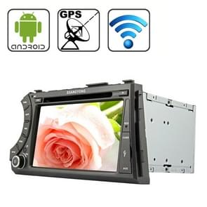 Rungrace 7.0 inch Android 4.2 Multi-Touch Capacitieve Screen In-Dash Car DVD Player voor Ssangyong Acyton Kyron met WiFi / GPS / RDS / IPOD / Bluetooth
