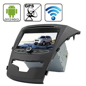 Rungrace 7.0 inch Android 4.2 Multi-Touch Capacitieve Screen In-Dash Car DVD Player voor Ssangyong Korando met WiFi / GPS / RDS / IPOD / Bluetooth